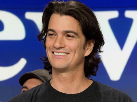 Adam Neumann, cofundador de WeWork.