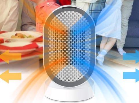 Amazon oferta este calefactor de bajo consumo con un 40% de descuento