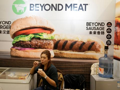 rival chino de Beyond Meat e impossible Food