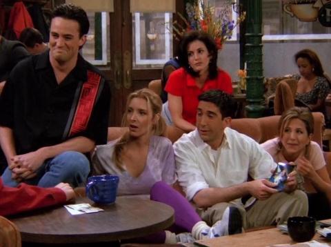 """El elenco de """"Friends"""" mantuvo al público pegado a la pantalla durante una década."""