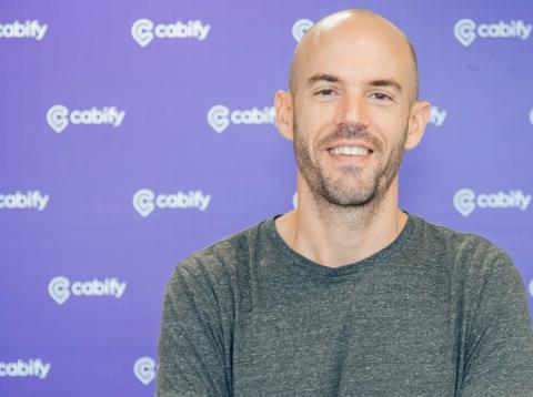 El CEO de Cabify, Juan de Antonio.