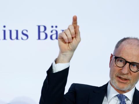 El CEO de Julius Baer, Bernhard Hodler