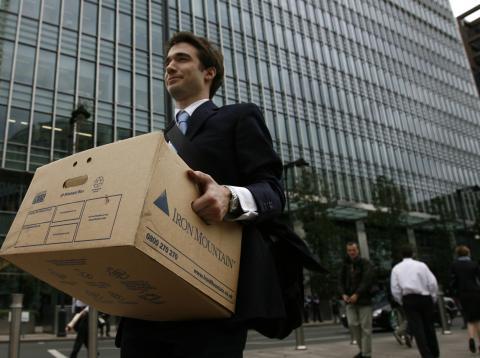 Empleado de Lehman Brothers