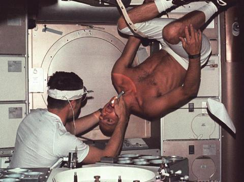 Vintage NASA images reveal the agency's earliest feats, from launching the first astronauts to building a '70s space station