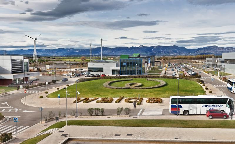 Parque Tecnológico Walqa, en Huesca, sede de Continuum