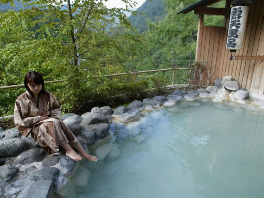 An onsen in the Nagano Prefecture of Japan.