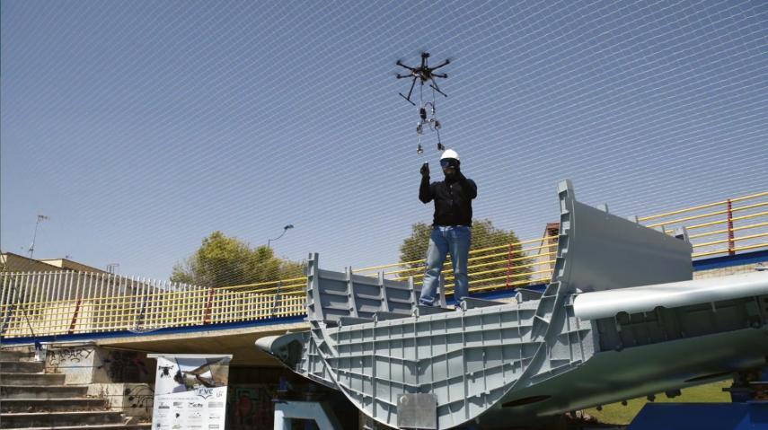 Aerial coworking drones