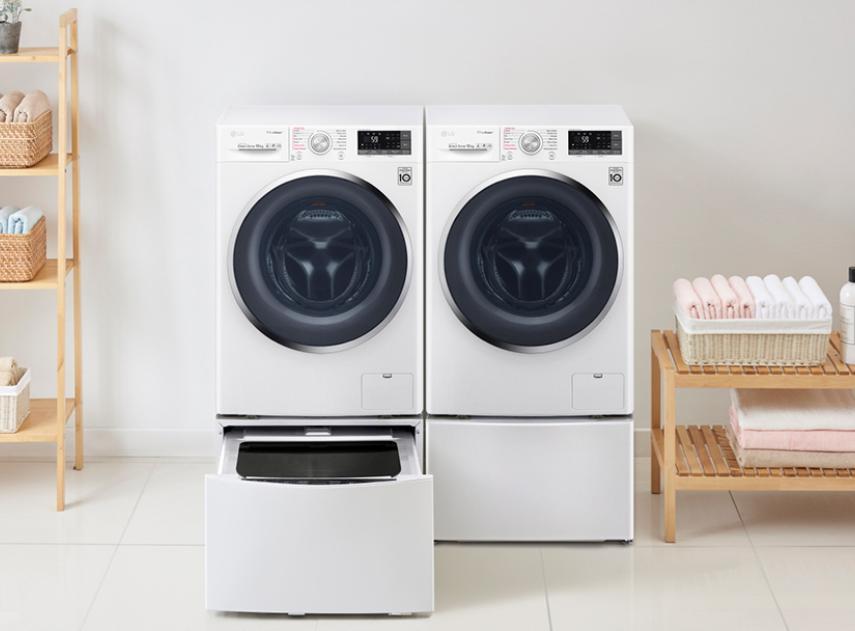 Las lavadoras ecoeficientes de LG ahorran y cuidan el medioambiente