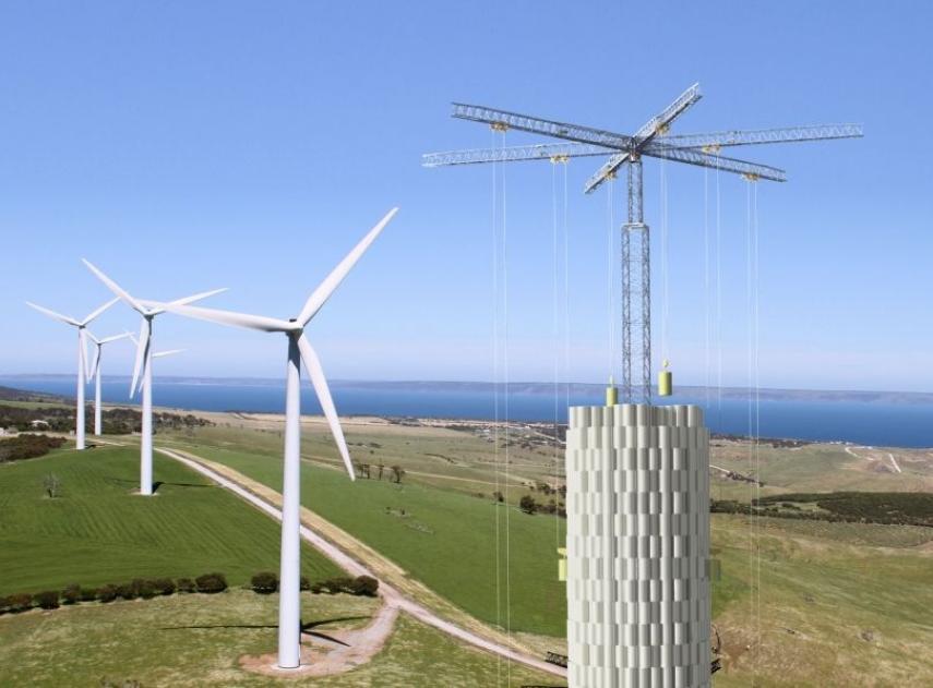 Esta empresa transforma la energía cinética en energía verde utilizando bloques de hormigón