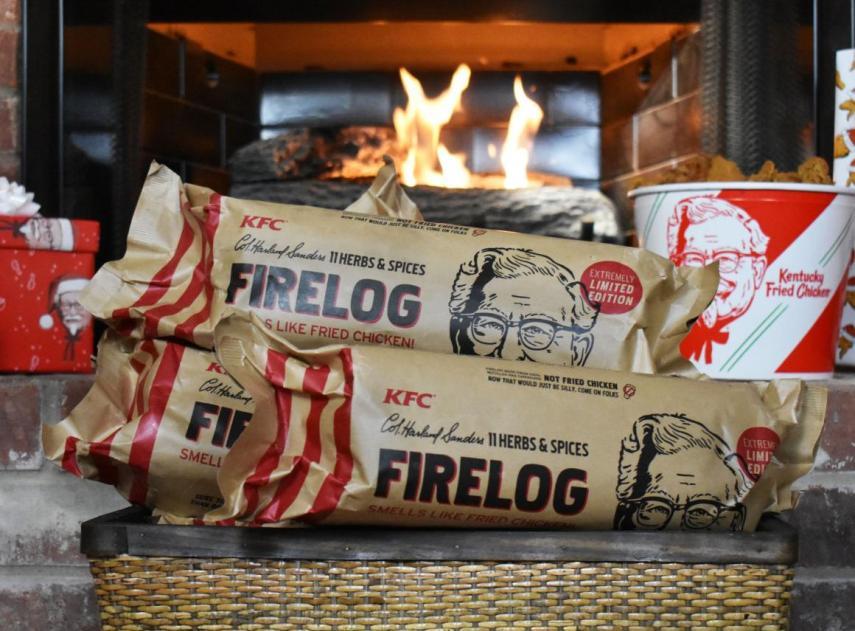 KFC is kicking off the holiday season.