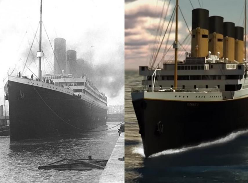 El interior del Titanic II, una réplica del Titanic de 1912 que podría zarpar en 2022