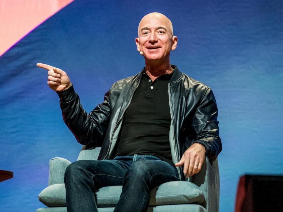 [RE] Jeff Bezos, CEO de Amazon