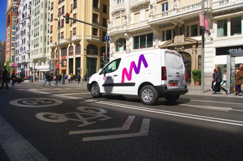 Las nuevas furgonetas de Emov.