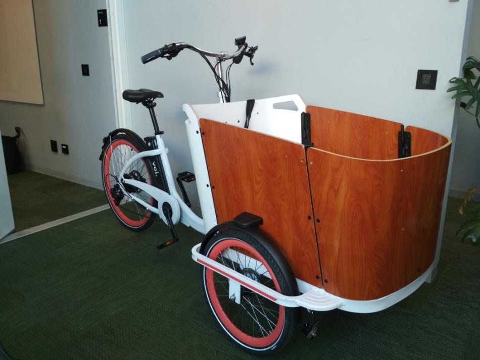 'Cargo bike' de Voi.