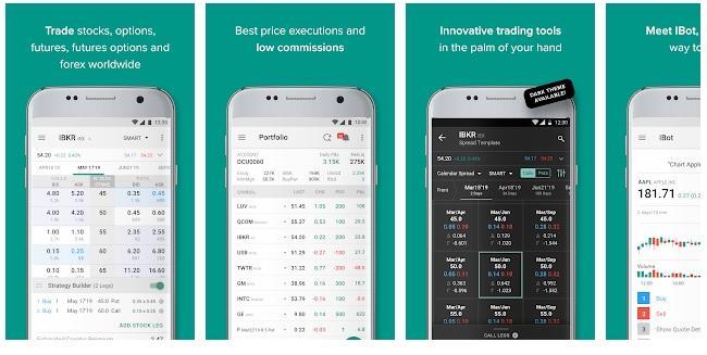 Aplicación de Interactive Brokers.