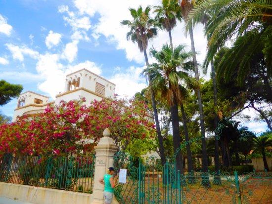 Paseo de las Villas.