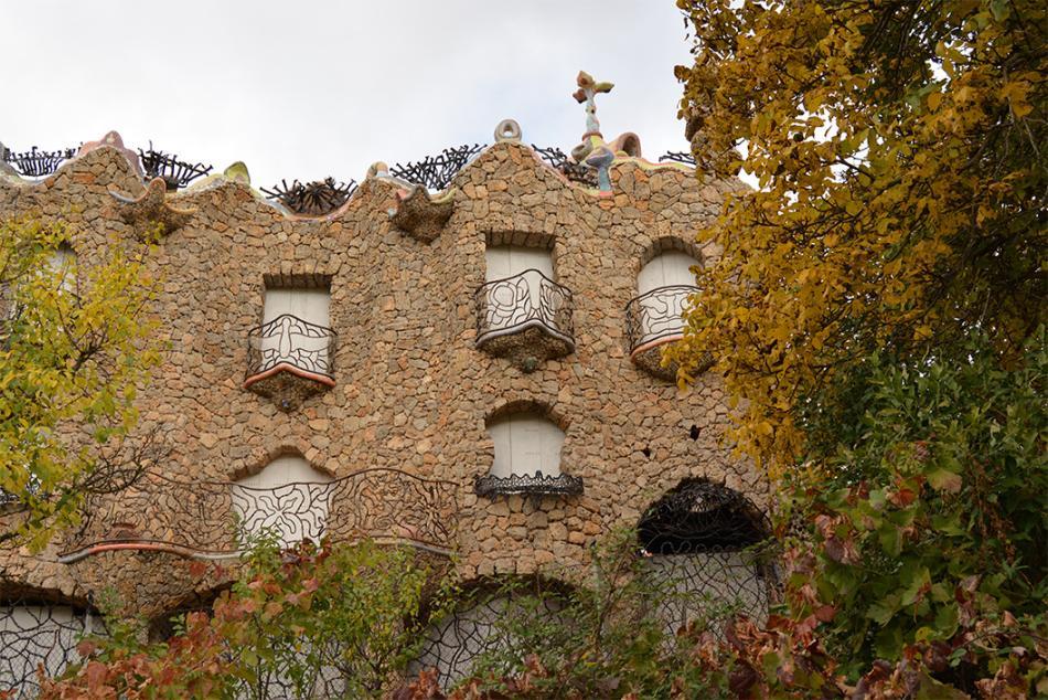 La casa Gaudí de Río de Gallo.