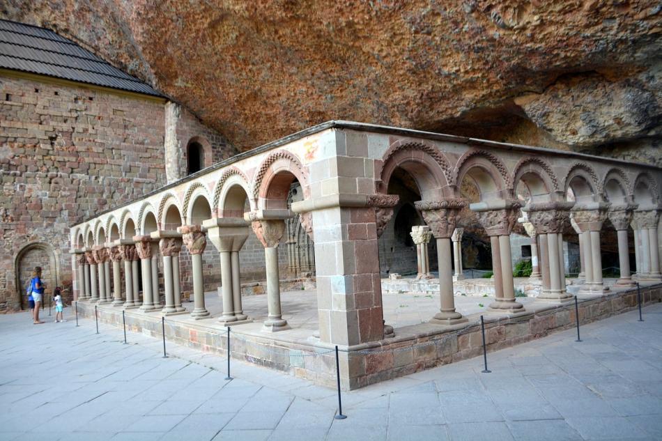 Monasterio San Juan de la Peña.