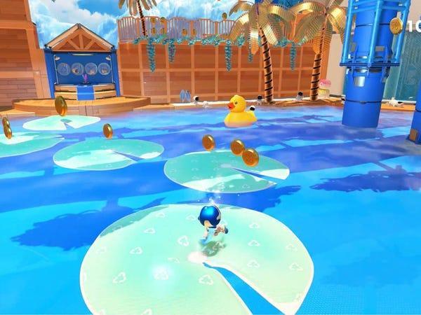El juego de acción 3D Astro's PlayRoom.