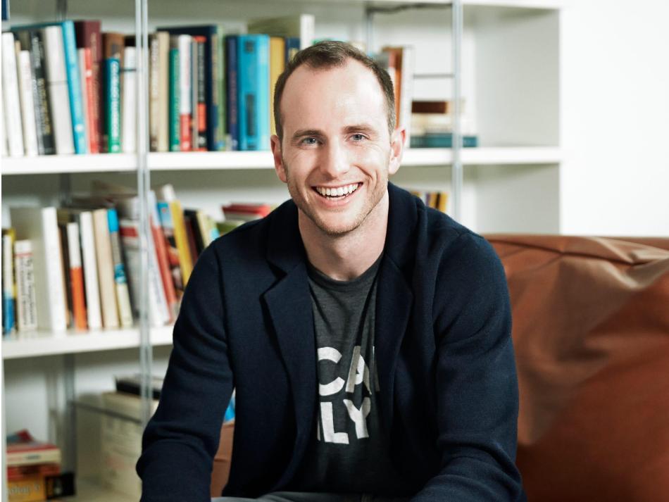 Joe Gebbia, cofundador de Airbnb.