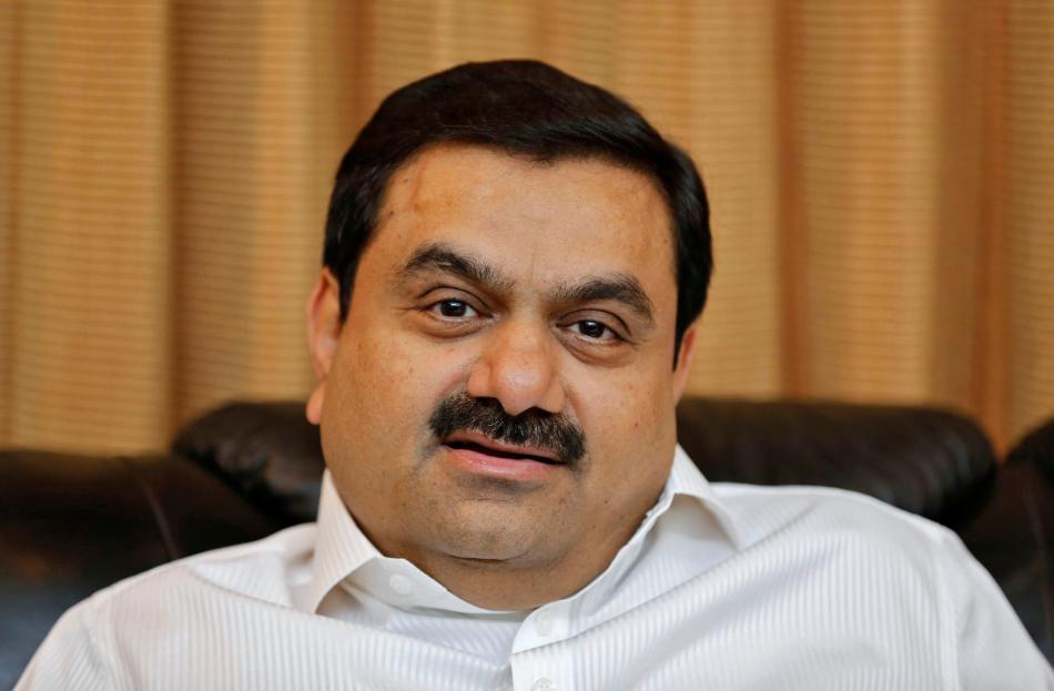 El multimillonario indio Gautam Adani