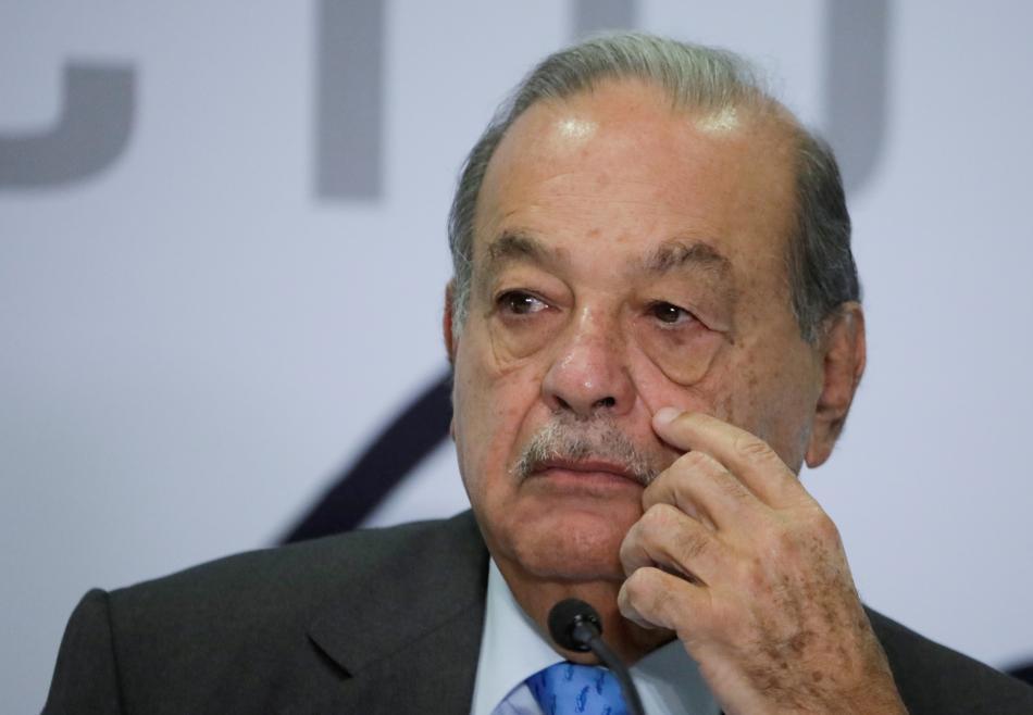 El multimillonario mexicano Carlos Slim