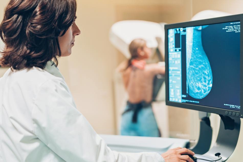 Mamografía.