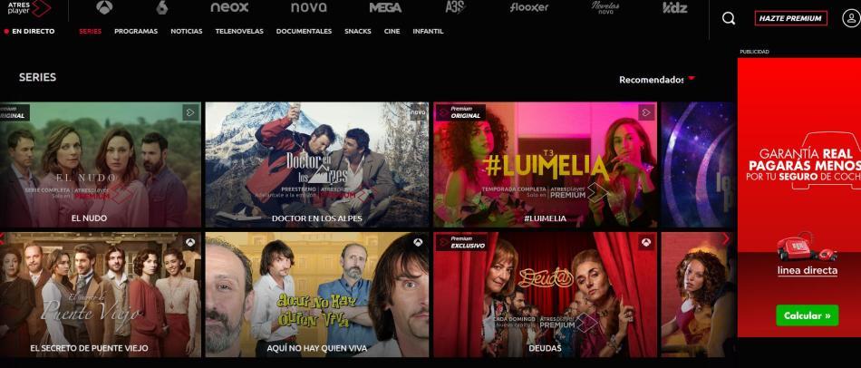 Las Mejores Webs Para Ver Películas Y Series Gratis Y De Forma Legal Business Insider España