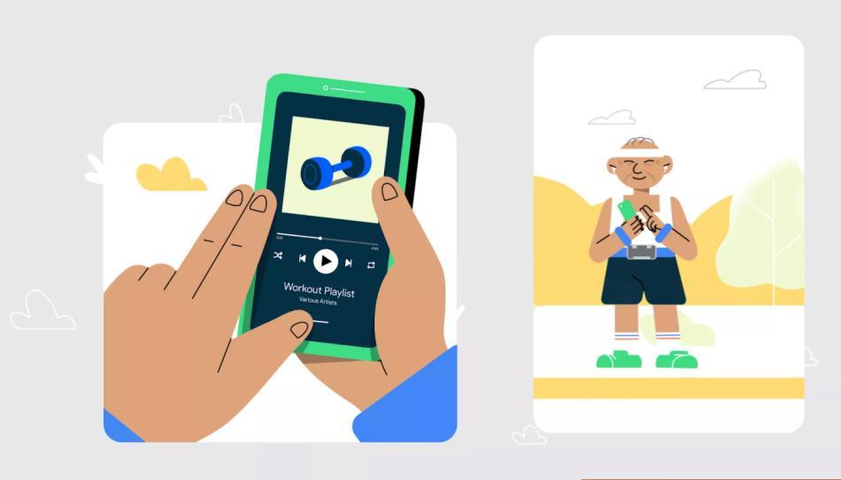Google Talkback en Android