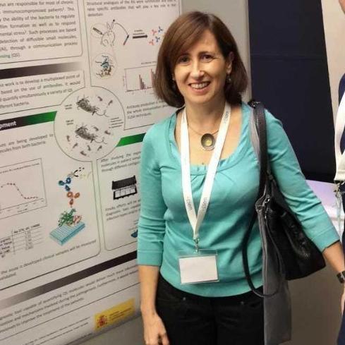 Pilar Marco, investigadora del CSIC.