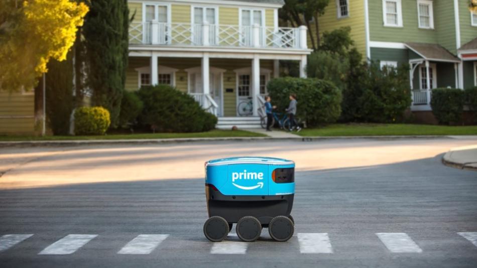 El robot Scout de Amazon