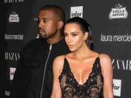 Kim Kardashian Kanye West famosos celebrities