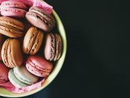macarons recetas veganas postres navidad