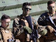 Marines estadounidenses durante unos ejercicios militares con la OTAN