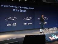BAIDU-Producción coches autónomos en masa