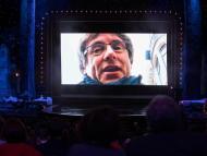 Vídeo de Carles Puigdemont en los Premios Gaudí.