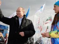 Vladimir Putin, Villa Olímpica de Sochi