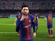 Messi en PES