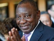 Nuevo presidente Sudáfrica Cyril Ramaphosa