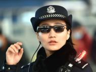 Policía China Gafas Reconocimiento Facial