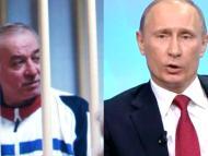 El exespía Sergei Skripal (izquierda) y Vladimir Putin (derecha)