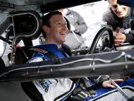 Mark Zuckerberg, en un coche