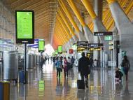 Zona de embarque de la T4 del Aeropuerto Adolfo Suárez Madrid-Barajas