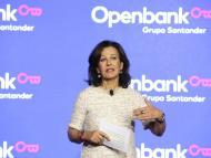 Ana Botín, presidenta de Santander.