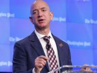 Jeff Bezos en una conferencia (RE)