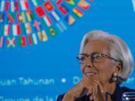 Christine Lagarde, directora gerente del Fondo Monetario Internacional