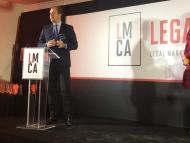 Ceca Magán en los premios Legal Macron