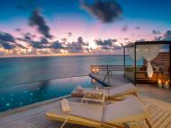 Villas at Baros Maldives range from $863 to about $3,265 per night.