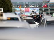 Taxis en huelga