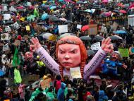 Huelga por el cambio climático en Düsseldorf